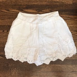 Urban Outfitters White Shorts
